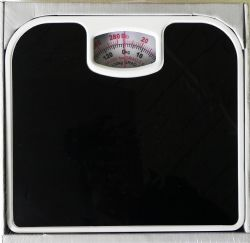 Wholesale Bathroom Scale Black Non Skid
