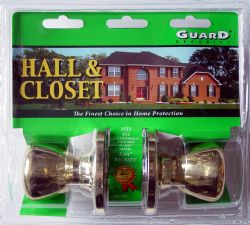 Wholesale Hall & Closet DOORKNOB Set