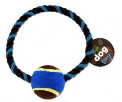 Wholesale Pet Rope Dog Toy TENNIS BALL