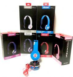Wholesale iBoost Foldable Stereo HEADPHONES