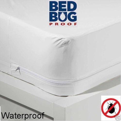 Wholesale Zippered Fabric Mattress Cover Protects Against