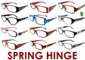Wholesale 4.00 Spring Hinge Reading Glasses