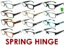 Wholesale 4.00 Reading Glasses with Spring Hinge