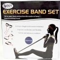 Wholesale Fitness Exercise Band Set with Storage Bag