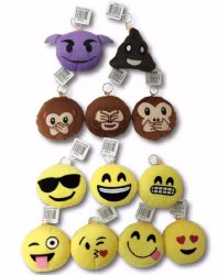 Wholesale Emoji KEYCHAIN Pillows 4.5 inch
