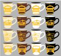 Wholesale 11 ounce Stoneware Mug New York City Taxi