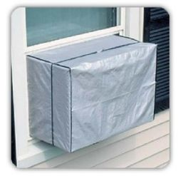 Dependable Outdoor Window A/C Cover Air Conditioner Protects Window-style Air Conditioners From Dirt and Debris in the Off-Season