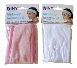 Wholesale Soft Microfiber Make-Up HEADBAND