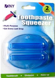 Wholesale 2 pack TOOTHPASTE Squeezer