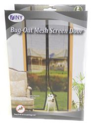 Wholesale Bug-Out Magnetic Mesh Screen Door - Ensure Bugs & Mosquitoes Are Kept Out , Pet Friendly, Toddler Friendly