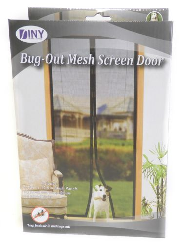 Wholesale Bug-Out Magnetic Mesh Screen Door - Ensure Bugs \u0026 Mosquitoes Are Kept Out  Pet Friendly Toddler Friendly & Wholesale Bug-Out Magnetic Mesh Screen Door - Ensure Bugs ...