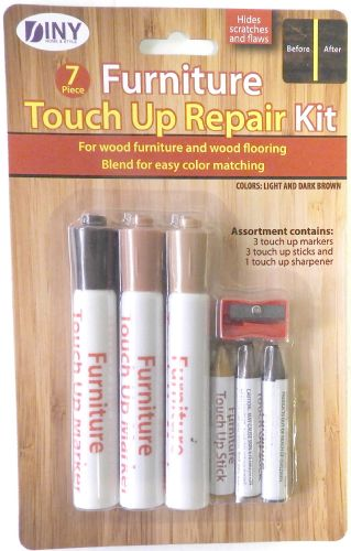 Wholesale 7 Piece Furniture Touch Up Repair Kit Hide Scratches And