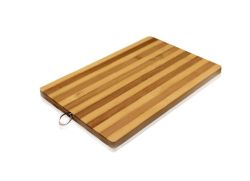 Wholesale Striped Bamboo Cutting Board All Natural 10.2 x 14.2 inch Eco-friendly Strong Thick Chopping Board
