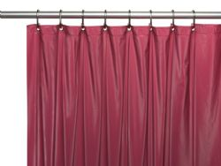 Wholesale Peva Shower Curtain Burgundy