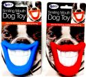 Wholesale Smiling Mouth Dog Fetch Squeaky Toy