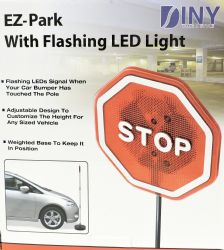 Wholesale EZ-Park Safety Garage Parking Signal Flashing Stop Sign New