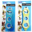 Wholesale 4 in 1 Opener Jar Bottle Opener