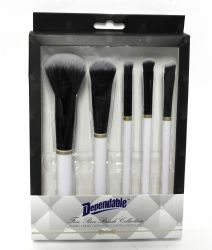 Wholesale Five Piece Makeup Brush Collection