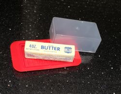Wholesale Plastic Butter Dish Red BPA Free