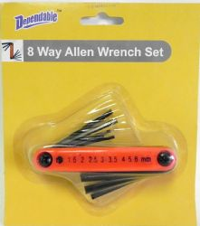 Wholesale Folding Allen WRENCH Set