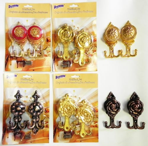 Wholesale Metal Curtain Holdback Sets At