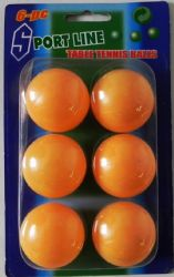 Wholesale Table TENNIS BALLS 6 Pack